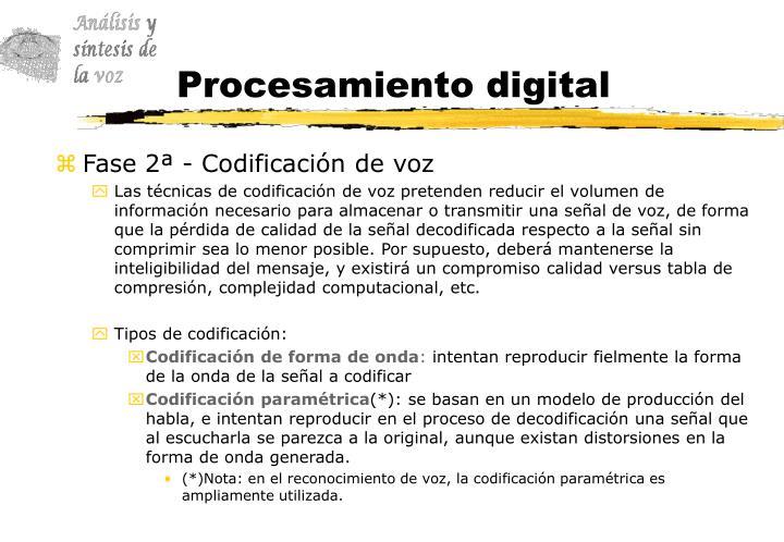 Procesamiento digital