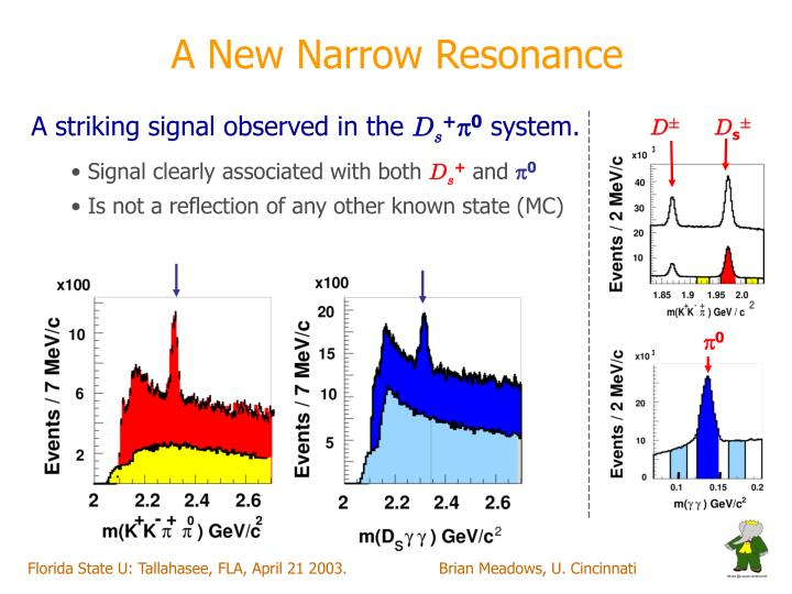 A New Narrow Resonance
