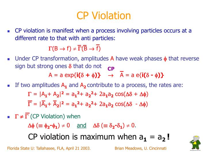 CP Violation