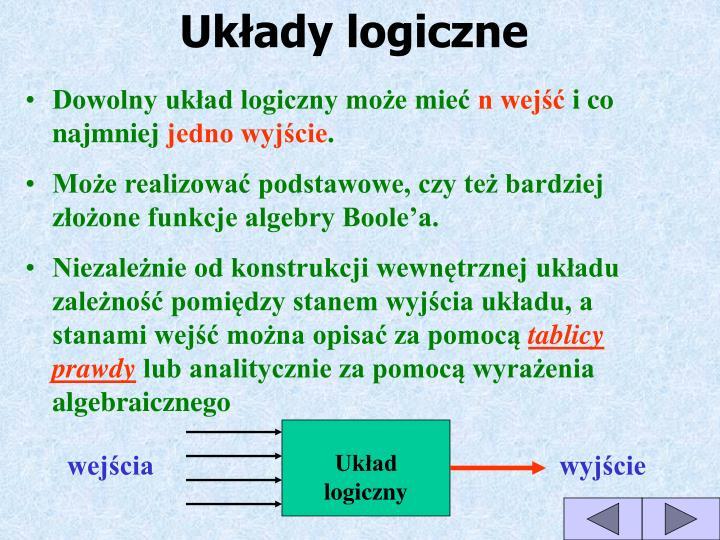 Układy logiczne