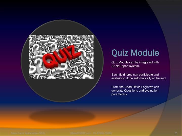 Quiz Module