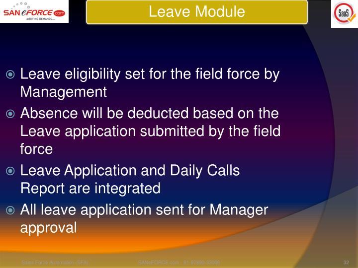 Leave Module