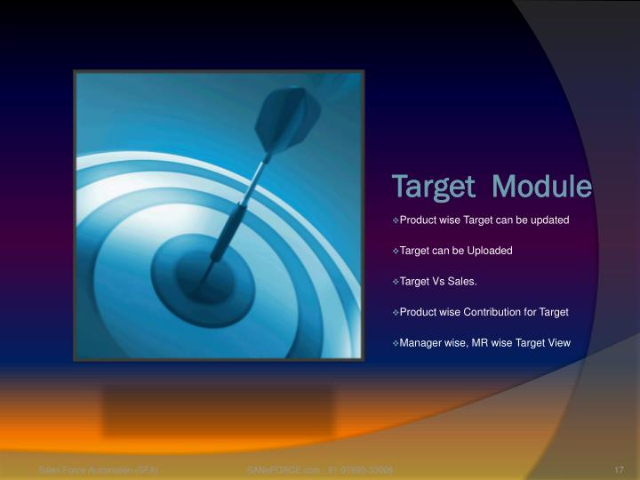 Target  Module