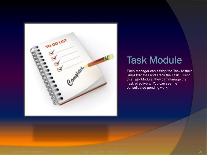 Task Module