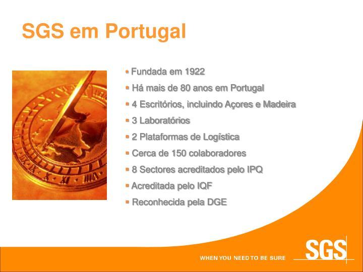 SGS em Portugal