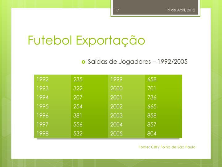 Futebol Exportação