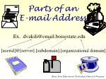 parts of an e mail address