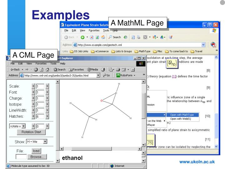 A CML Page