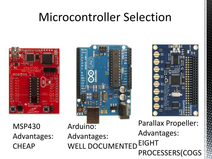 Microcontroller Selection