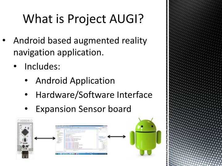 What is Project AUGI?
