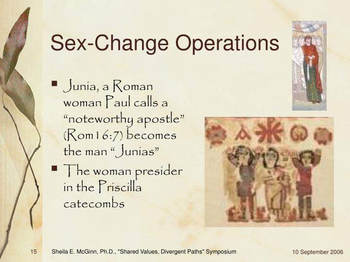 Sex-Change Operations