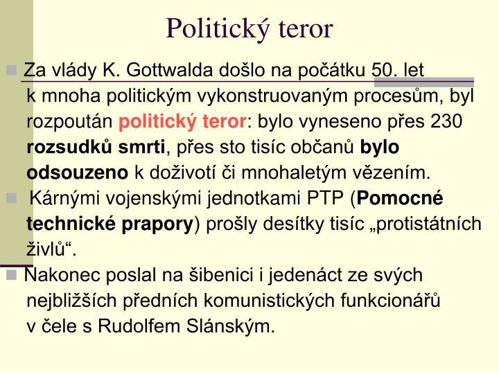 Politický teror