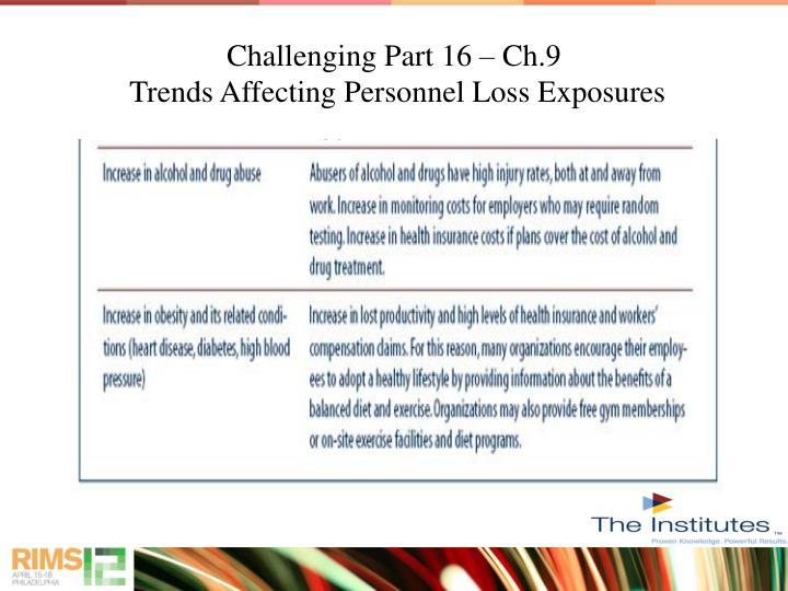 Challenging Part 16 – Ch.9