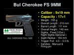 bul cherokee fs 9mm