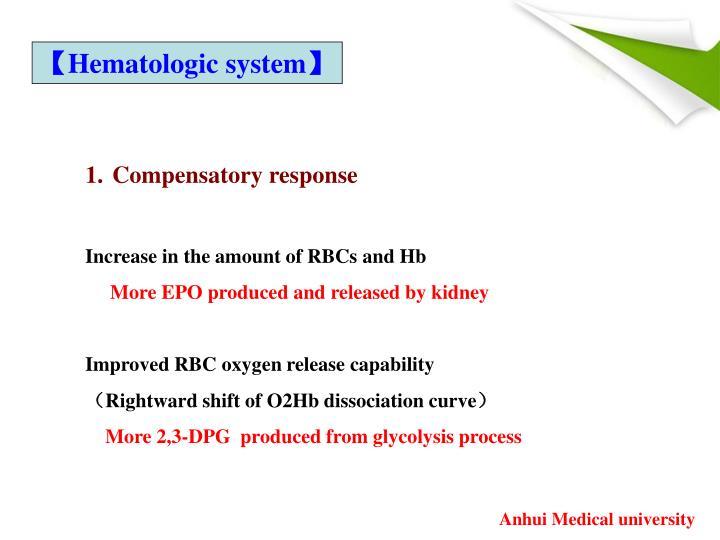 【Hematologic system】