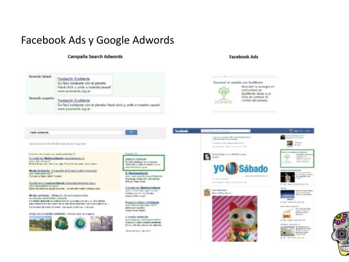 Facebook Ads y Google Adwords