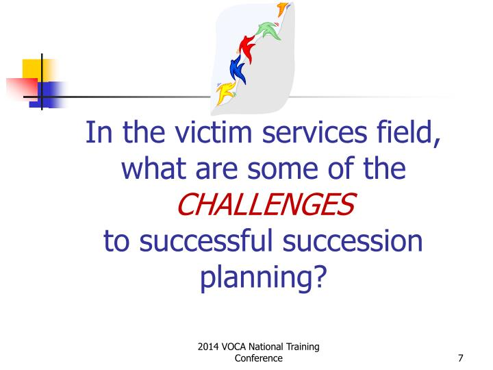 In the victim services field, what are some of the
