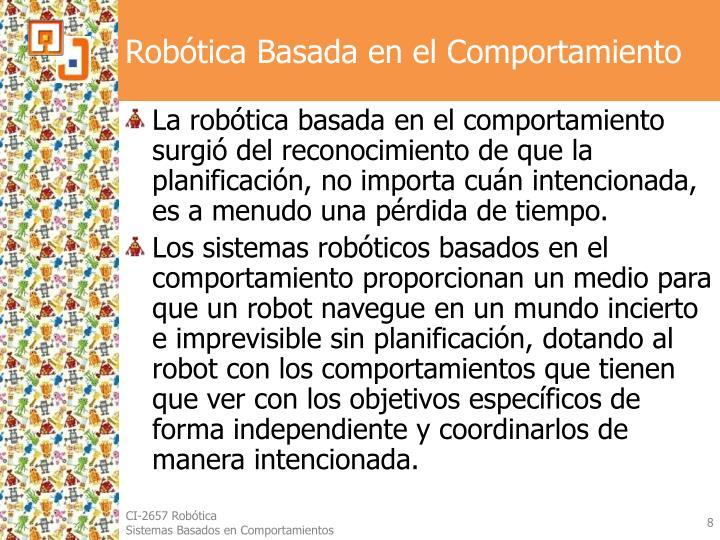 Robótica Basada