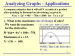 analyzing graphs applications1
