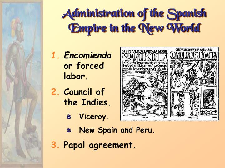 Administration of the Spanish Empire in the New World