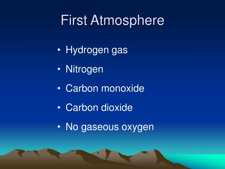 First Atmosphere