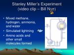 stanley miller s experiment video clip bill nye