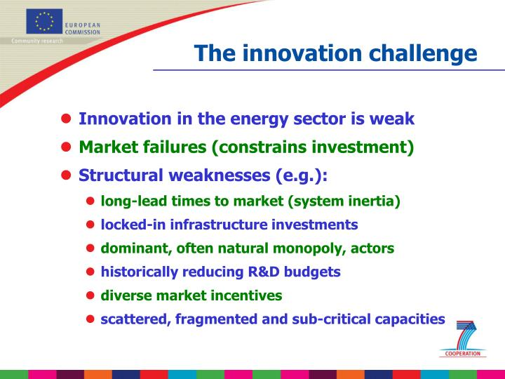 The innovation challenge