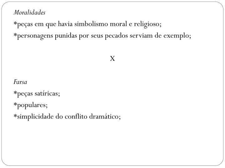 Moralidades