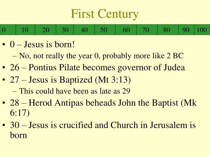 First Century