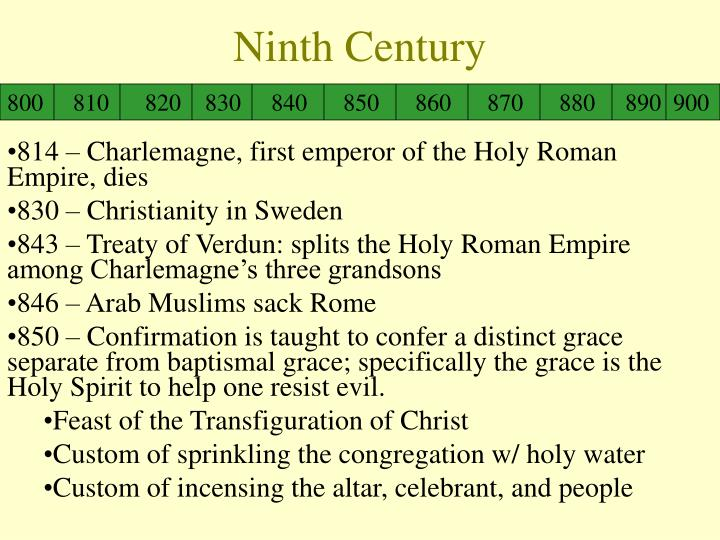 Ninth Century