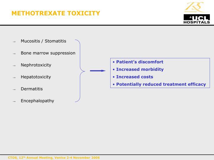 METHOTREXATE TOXICITY