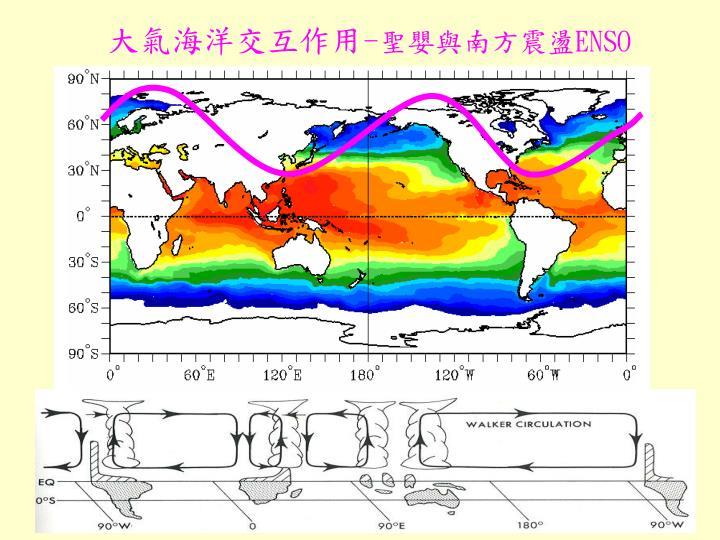 大氣海洋交互作用