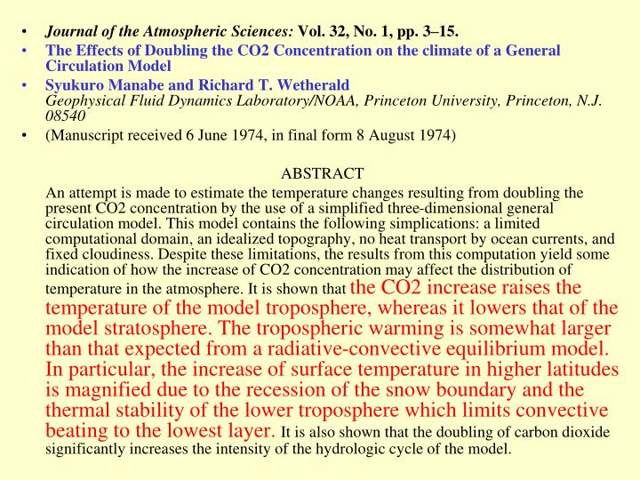 Journal of the Atmospheric Sciences: