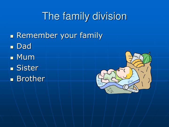 The family division