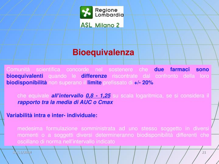 Bioequivalenza