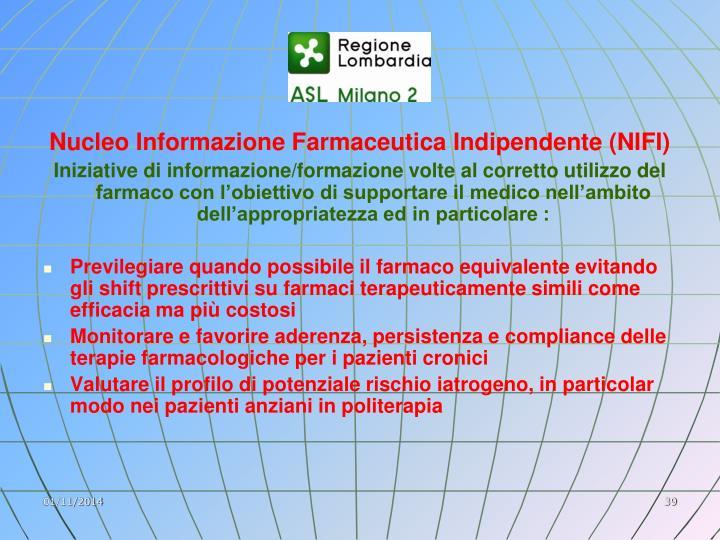 Nucleo Informazione Farmaceutica Indipendente (NIFI)