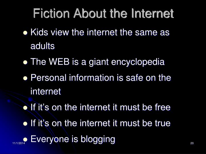 Fiction About the Internet