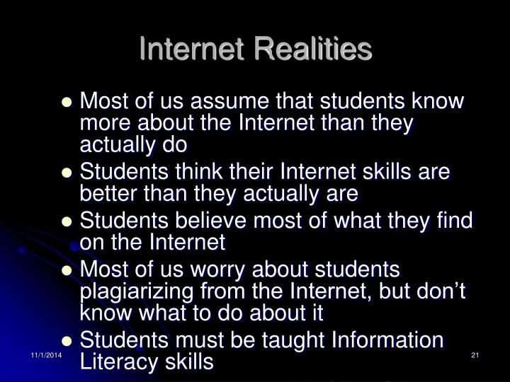 Internet Realities
