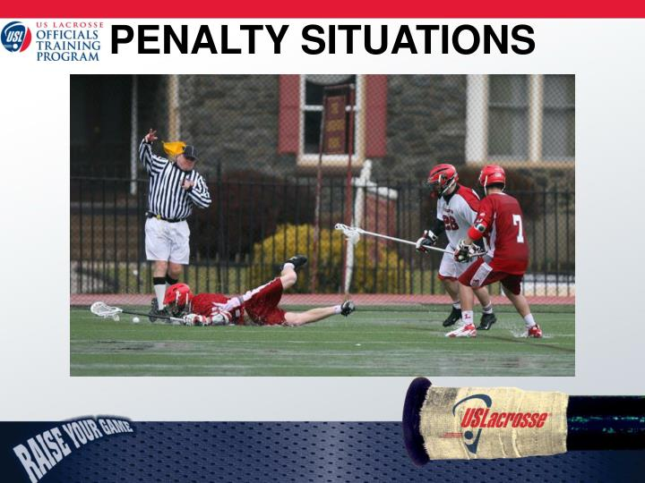 PENALTY SITUATIONS