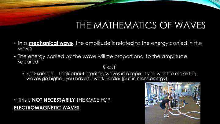 The Mathematics of Waves