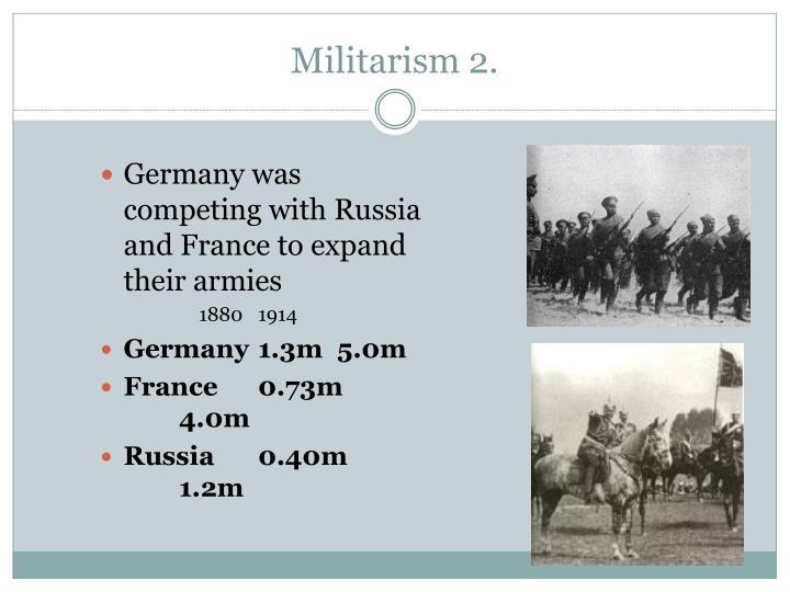 Militarism 2.