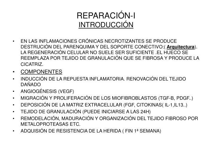 REPARACIÓN-I