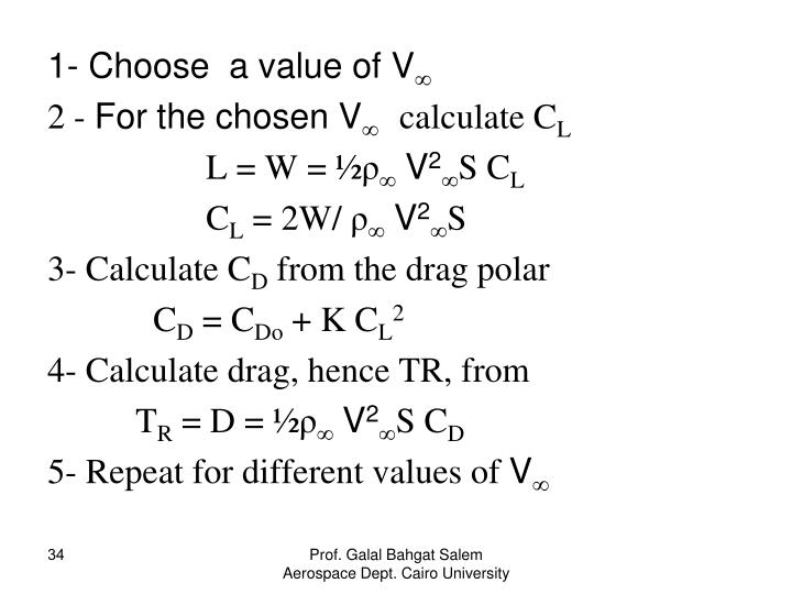 1- Choose  a value of V