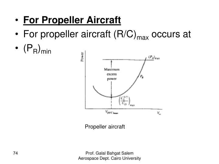 For Propeller Aircraft