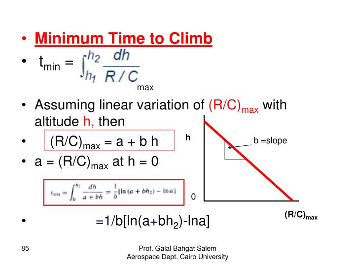 Minimum Time to Climb
