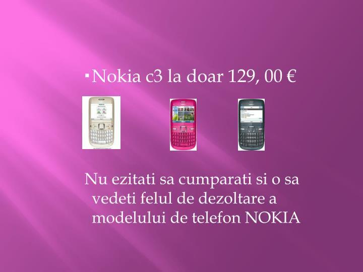 Nokia c3 la