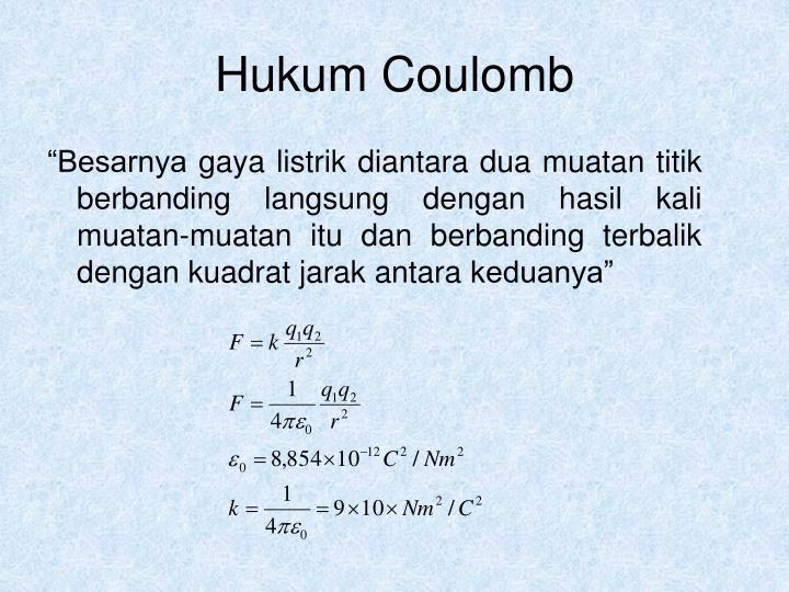 Hukum Coulomb
