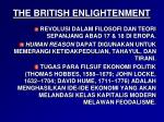 the british enlightenment