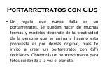 portarretratos con cds