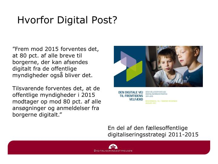 Hvorfor digital post